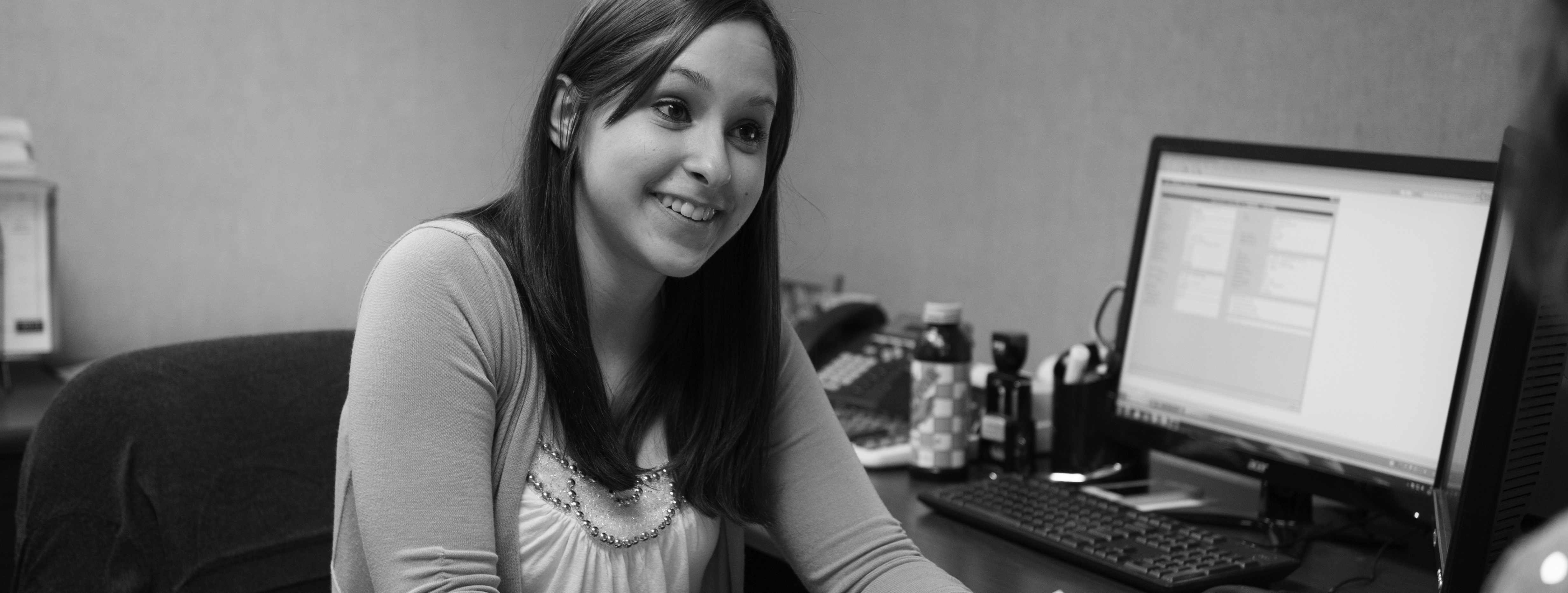 Alyssa Fikaris works in our billing & claims department